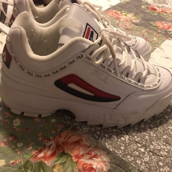 Chunky Fila women's shoes